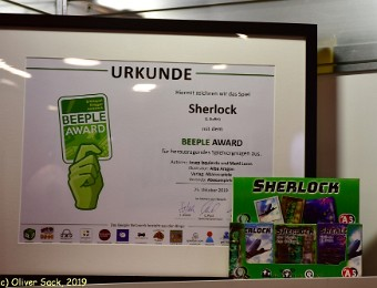 Sherlock Beeple Award